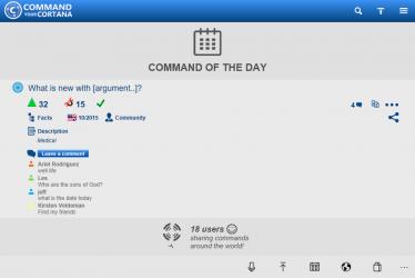 Screenshot 3 de Command your Cortana para windows