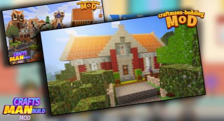 Captura de Pantalla 6 de Mod Craftsman - Building Craft mod para android