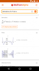 Screenshot 2 de WolframAlpha para android