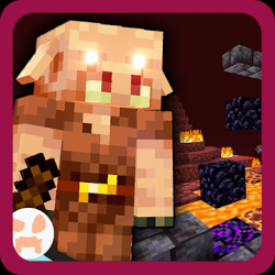 Screenshot 1 de Nether Update Texture Mod MCPE para android