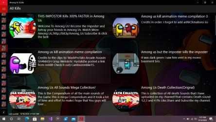 Imágen 5 de Among Us Guide para windows