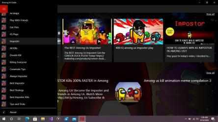 Screenshot 1 de Among Us Guide para windows