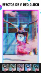 Captura de Pantalla 10 de Glitch efectos de video efectos de foto para android