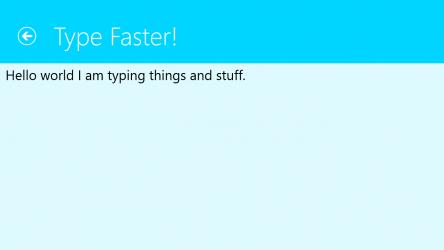 Screenshot 3 de Type Faster! para windows