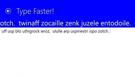 Imágen 7 de Type Faster! para windows