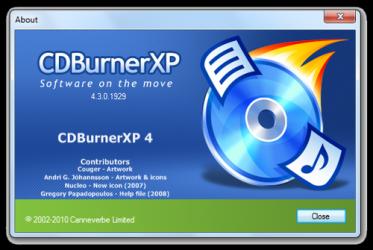 Imágen 1 de CDBurnerXP para windows