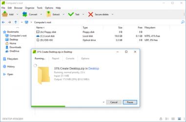 Captura 2 de PeaZip para windows