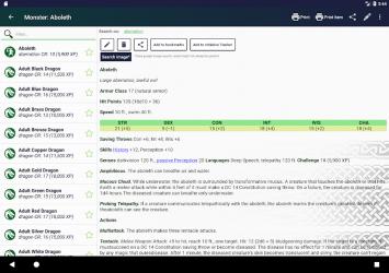 Captura de Pantalla 13 de Complete Reference for DnD 5 para android