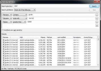 Captura de Pantalla 3 de FileZilla para windows