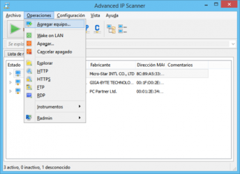 Imágen 1 de Advanced IP Scanner para windows