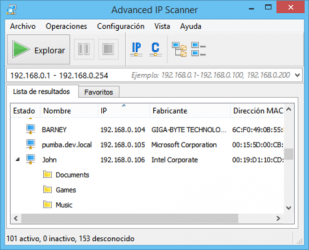 Captura 3 de Advanced IP Scanner para windows