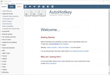 Captura 1 de AutoHotkey Store Edition para windows