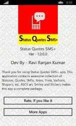 Captura 8 de Status Quotes SMS+ para windows