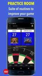 Screenshot 5 de Russ Bray Darts Scorer Pro para android