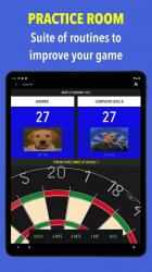 Screenshot 13 de Russ Bray Darts Scorer Pro para android
