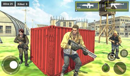 Screenshot 13 de Survival Squad Free Battlegrounds Fire 3D para android