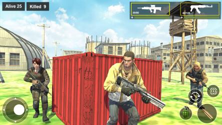 Captura 2 de Survival Squad Free Battlegrounds Fire 3D para android