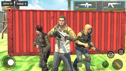 Captura 4 de Survival Squad Free Battlegrounds Fire 3D para android
