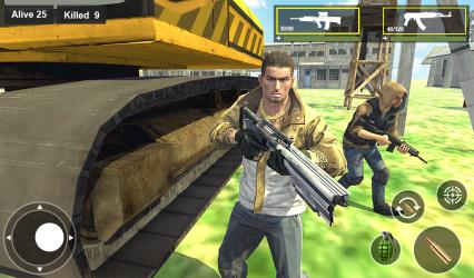 Captura de Pantalla 10 de Survival Squad Free Battlegrounds Fire 3D para android