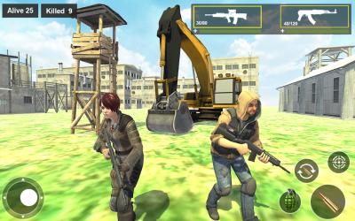 Captura 8 de Survival Squad Free Battlegrounds Fire 3D para android