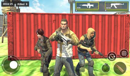 Imágen 11 de Survival Squad Free Battlegrounds Fire 3D para android