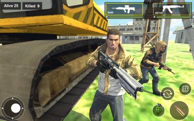 Screenshot 9 de Survival Squad Free Battlegrounds Fire 3D para android
