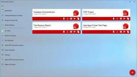 Screenshot 4 de PDF Document Scanner para windows