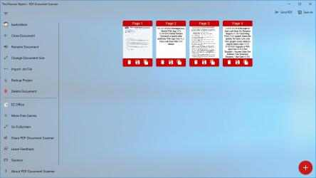 Screenshot 5 de PDF Document Scanner para windows