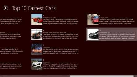Screenshot 4 de 10 Fastest Cars para windows