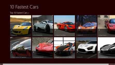 Captura 1 de 10 Fastest Cars para windows