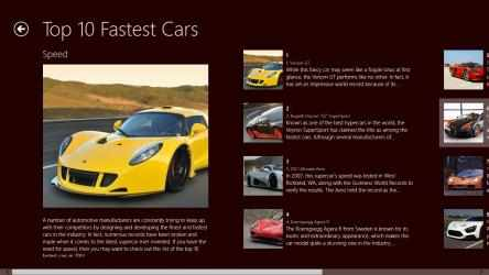 Imágen 2 de 10 Fastest Cars para windows