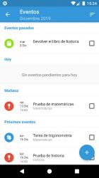 Screenshot 5 de Agenda del Estudiante Pro - ¡Organiza tus tareas! para android