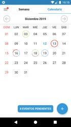 Screenshot 3 de Agenda del Estudiante Pro - ¡Organiza tus tareas! para android