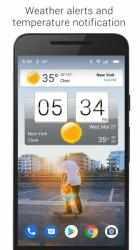 Screenshot 11 de Sense Flip Clock & Weather (Ad-free) para android
