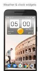 Screenshot 10 de Sense Flip Clock & Weather (Ad-free) para android
