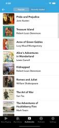 Screenshot 1 de Audiobooks para iphone