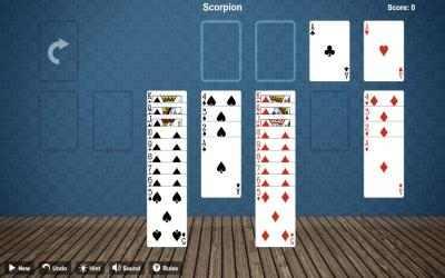 Screenshot 3 de Scorpion Solitaire Free para windows
