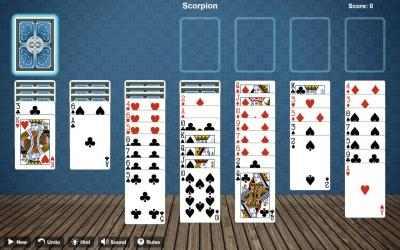 Screenshot 1 de Scorpion Solitaire Free para windows