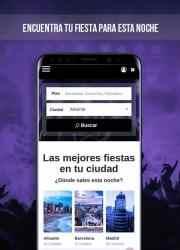 Captura de Pantalla 2 de Buscafiesta - Eventos de ocio en toda España para android