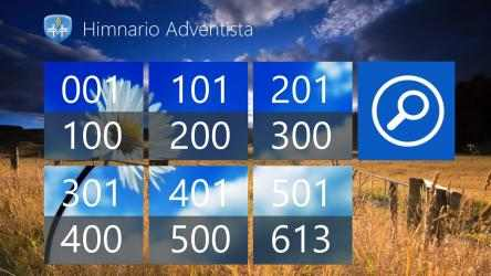 Captura de Pantalla 2 de Himnario Adventista W8 para windows