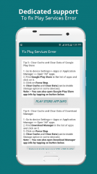 Imágen 3 de Info of Play Store & fix Play Services 2020 Update para android