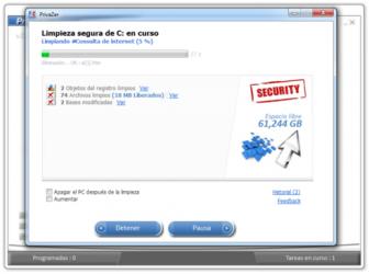 Screenshot 5 de PrivaZer para windows