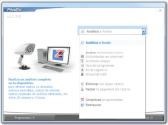 Captura 2 de PrivaZer para windows
