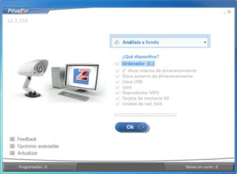 Captura de Pantalla 1 de PrivaZer para windows