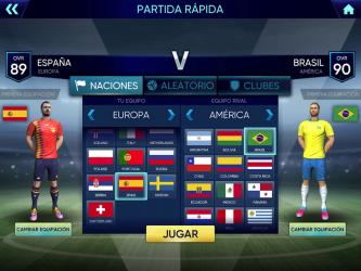 Screenshot 2 de Football Cup 2020: Juegos de Futbol para android
