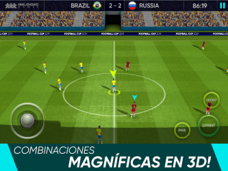 Screenshot 6 de Football Cup 2020: Juegos de Futbol para android