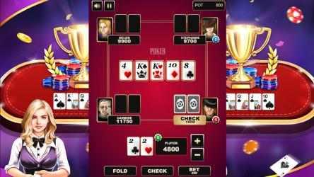 Screenshot 1 de Texas Holdem Poker 3D para windows