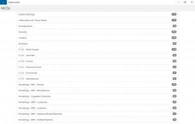 Captura 2 de Medical MCQs para windows