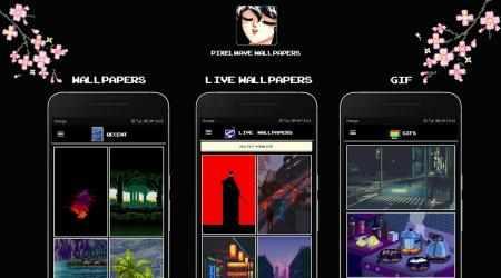 Imágen 3 de Pixelwave Wallpapers 🌊(Live Walls & Pixel Editor) para android