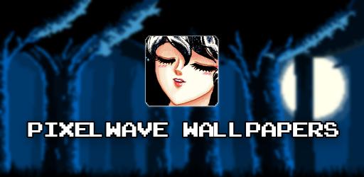 Screenshot 2 de Pixelwave Wallpapers 🌊(Live Walls & Pixel Editor) para android